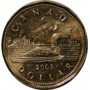2005 Canadian $1 Common Loon (Brilliant Uncirculated)