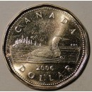 2006 Canadian $1 Common Loon, RCM Logo (Brilliant Uncirculated)