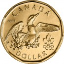 2008 Canadian $1 Lucky Loonie (Brilliant Uncirculated)