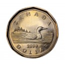 2009 Canadian $1 Common Loon (Brilliant Uncirculated)