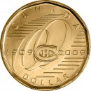 2009 Canadian $1 Montreal Canadiens Centennial (Brilliant Uncirculated)