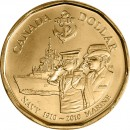 2010 Canadian $1 100th Anniversary of the Canadian Navy (Brilliant Uncirculated)