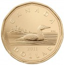 2011 Canadian $1 Common Loon (Brilliant Uncirculated)