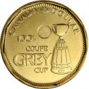 2012 Canadian $1 Grey Cup Centennial (Brilliant Uncirculated)