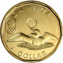 2012 Canadian $1 Olympic Lucky Loonie (Brilliant Uncirculated)