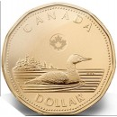 2013 Canadian $1 Common Loon (Brilliant Uncirculated)
