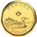 2015 Canadian $1 Common Loon (Brilliant Uncirculated)