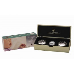 2008 Canada Baby Keepsake Tins & Sterling Silver Dollar Coin Gift Set
