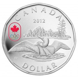2012 Canada Proof Fine Silver $1 Dollar Coin - Lucky Loonie