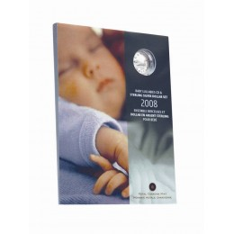 2008 Canada Baby's Lullabies CD & Sterling Silver Dollar Coin Gift Set