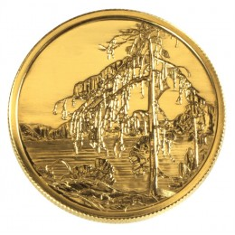 2002 Canada 22-karat Gold $200 Coin - Tom Thompson