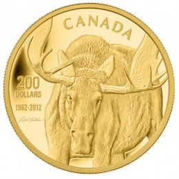2012 Canada Pure Gold $200 Coin - The Challenge: Robert Bateman