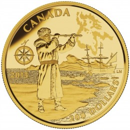 2015 Canada Pure Gold $200 Coin - Great Canadian Explorers Series: Henry Hudson