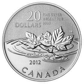 2012 Canada Fine Silver $20 Coin - $20 for $20: Farewell to the Penny