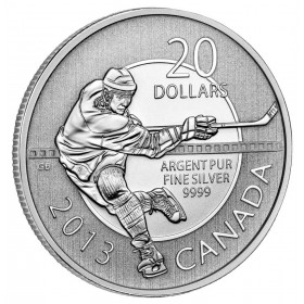 2013 Canada Fine Silver $20 Coin - $20 for $20: Hockey