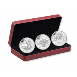 2013 Canada Fine Silver $20 Coins - Birth of the Royal Infant: 3-Coin Set