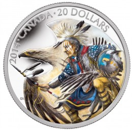 2014 Canada Fine Silver $20 Coin - Legend Of Nanaboozhoo