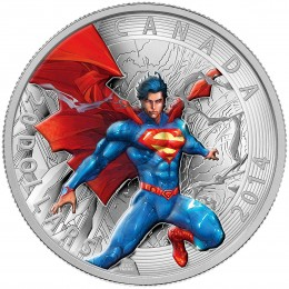 2014 Canada Fine Silver $20 Coin - Iconic Superman™ Comic Book Covers: Superman Annual #1 (2012)
