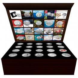 2011-2015 Canadian Empty 20-Coin $20 for $20, $25 for $25 Collector Display Case