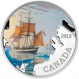 2015 Canada Fine Silver $20 Coin - Lost Ships in Canadian Waters: Franklin's Lost Expedition