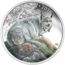 2016 Canadian $20 Majestic Animals: The Canadian Lynx - 1 oz Fine Silver Coin