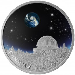 2016 Canadian $20 The Universe - 1 oz Fine Silver Coin
