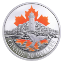 2017 Canadian $20 Canada's Coast: Atlantic Coast - 1 oz Fine Silver Coin