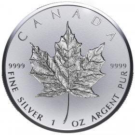 2018 Canadian $20 Celebrating the Maple Leaf: 30th Anniversary of the Silver Maple Leaf - 1 oz Fine Silver Coin