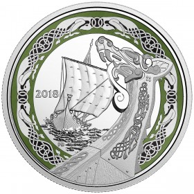 2018 Canadian $20 Norse Figureheads: Northern Fury - 1 oz Fine Silver Coin