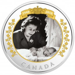 2018 Canadian $20 Royal Portrait 1 oz Fine Silver Coin