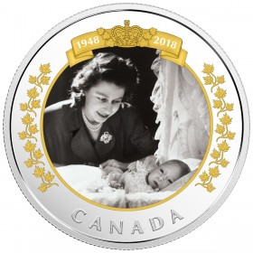 2018 Canadian $20 Royal Portrait - 1 oz Fine Silver Coin