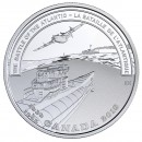2018 Canadian $20 Second World War Battlefront Series: The Battle of the Atlantic - 1 oz Fine Silver Coin