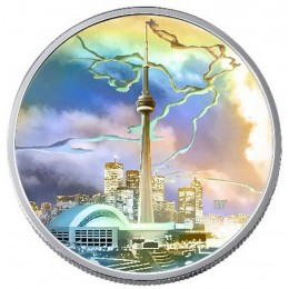 2006 Canada Fine Silver $20 Coin - Architectural Series: CN Tower
