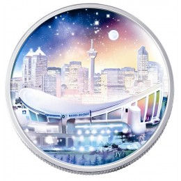 2006 Canada Fine Silver $20 Coin - Architectural Series: Pengrowth Saddledome