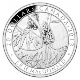 2013 Canadian $20 Group of Seven: J.E.H. MacDonald - 1 oz Fine Silver Coin