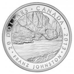 2013 Canadian $20 Group of Seven: Franz Johnston, The Guardian of the Gorge - 1 oz Fine Silver Coin