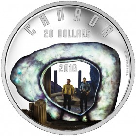 2016 Canadian $20 Star Trek™ Scenes: The City on the Edge of Forever 1 oz Fine Silver Coin