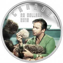 2016 Canadian $20 Star Trek™ Scenes: The Trouble with Tribbles 1 oz Fine Silver Coin