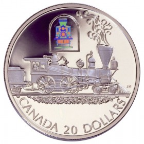 2000 Canada Sterling Silver $20 Coin - Transportation Series: The Toronto