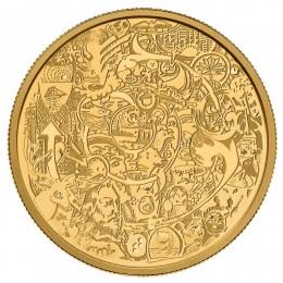 2014 Canada Pure Gold $250 Coin - Canada Through the Eyes of Tim Barnard