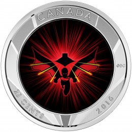 2016 Canada 25-cent 3D Coin - Batman v Superman: Dawn of Justice™