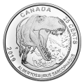2019 Canadian 25-Cent Dinosaurs of Canada 3-Coin Set