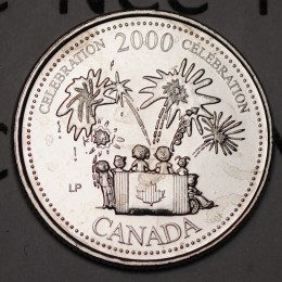 2000 Canadian 25-Cent Celebration, Millennium Series (Brilliant Uncirculated)