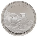 1992 (1867-) Canadian 25-Cent Alberta Confederation 125th Anniv/Provincial Quarter Proof Sterling Silver Coin