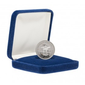 1992 (1867-) Canadian 25-Cent Northwest Territories Confederation 125th Anniv/Provincial Quarter Proof Sterling Silver Coin
