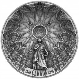 2016 Canada Fine Silver $25 Coin - The Library of Parliament