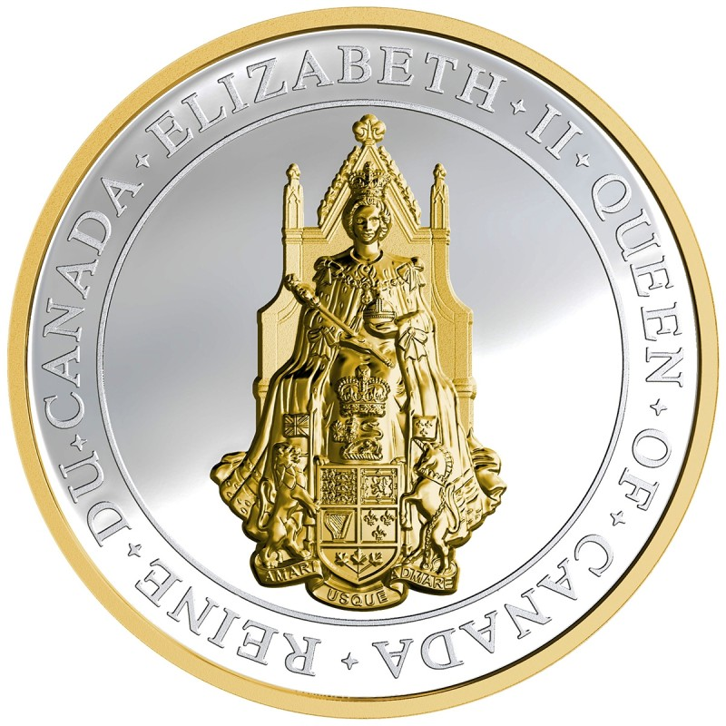 2017 Canadian 25 The Great Seal Of Canada