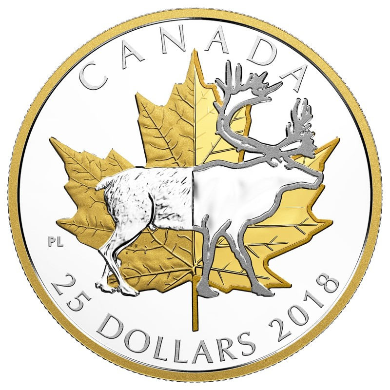 2018 Canadian 25 Timeless Icons Caribou