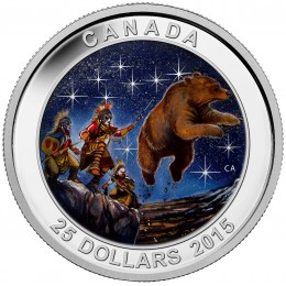 2015 Canada Fine Silver 25 Dollar Coin - Star Charts: The Great Ascent
