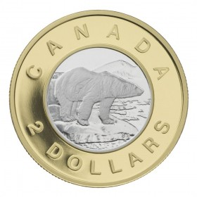2006 Canada 22-karat Gold $2 Coin - 10th Anniversary of Canadian Toonie